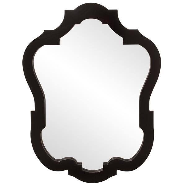 Asbury Glossy Black Mirror