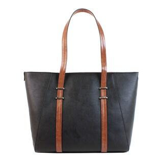 Emilie M. Desi PVC Double Shoulder Tote Handbag