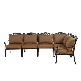 Sunjoy Ruby Sectional Seating Set