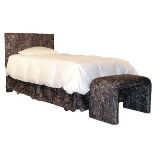 Flat Twin Headboard in True Timber Conceal Cotton