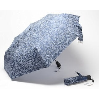Rain Bubbles Pattern Umbrella