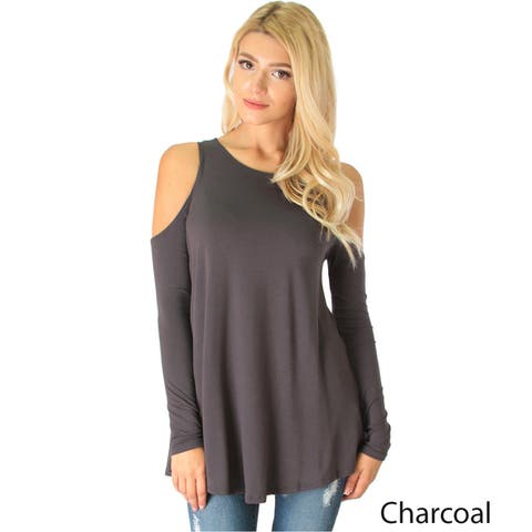 Company Cold-Shoulder Women's Long-Sleeve Top