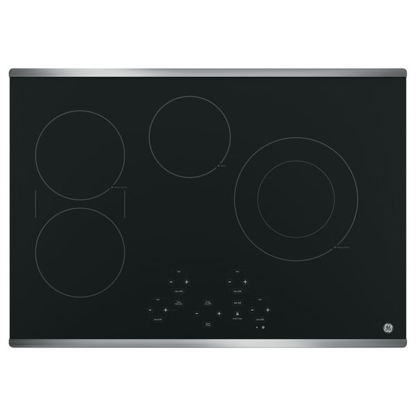 GE 30-inch Built-in Touch Control Electric Cooktop