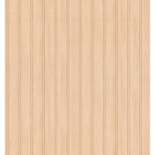 Brewster Hardwood Beige Wood Panelling Wallpaper