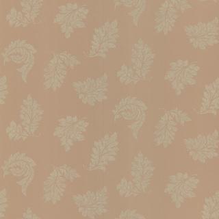 Brewster Henri Salmon Scrolling Leaf Wallpaper