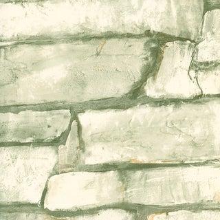 Brewster Off-white Neutral Fieldstone Wallpaper