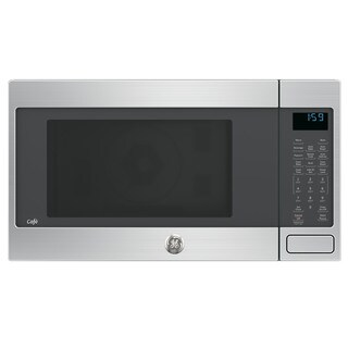 GE Cafe Series 1.5-cubic Feet Countertop Convection/ Microwave Oven - Stainless Steel