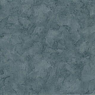 Brewster Blue Tuscan Texture Wallpaper