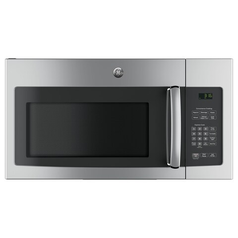 GE Stainless Steel 1.6-cubic Foot Over-the-range Microwave Oven with Recirculating Venting