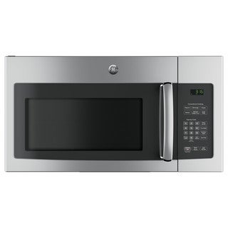 GE 1.6-cubic Feet Over-the-range Microwave Oven with Recirculating Venting - Stainless Steel