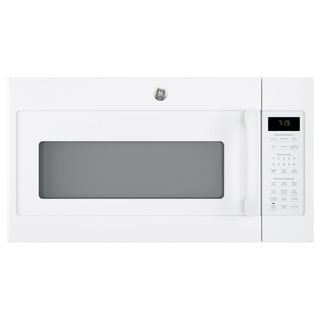 GE Series 1.9-cubic Feet Over-the-range Sensor Microwave Oven with Recirculating Venting