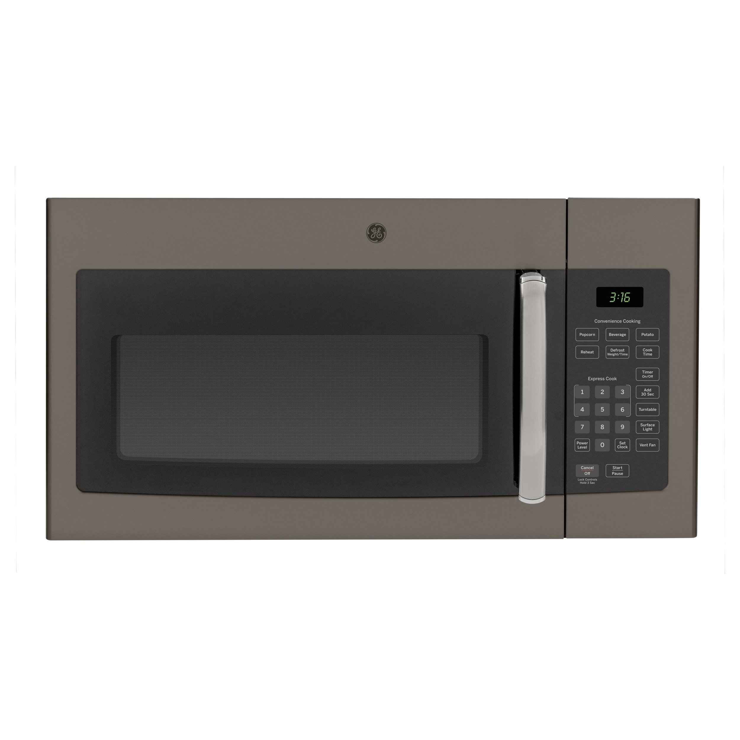 GE 1.6-cubic Feet Over-the-range Microwave Oven (slate), ...