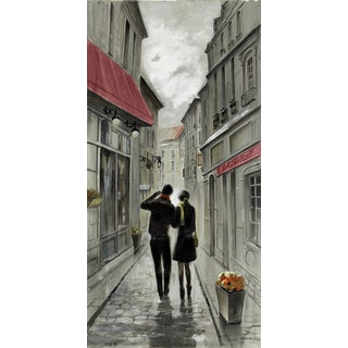 Hobbitholeco 'Amsterdam Walk I' 8.5 x 18.5-inch Canvas Wall Art