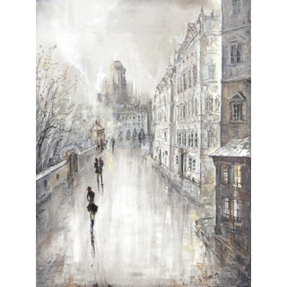Peter Kijanista 'Amsterdam Lovers VI' 18 x 24 Gallery Wrapped Canvas Wall Art