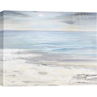 Hobbitholeco 'Sea Landscape II' 30 x 40 Gallery Wrapped Canvas Wall Art