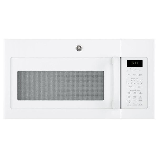 GE Series 1.7-cubic Feet Over-the-range Sensor Microwave Oven