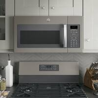 GE Series 1.7-cubic Feet Over-the-range Sensor Microwave Oven