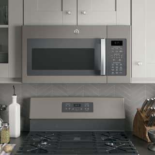 Ge Series 1 7 Cubic Feet Over The Range Sensor Microwave Oven