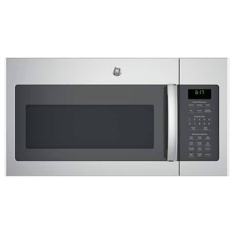 GE Series 1.7-cubic Feet Over-the-range Sensor Microwave Oven - Stainless Steel