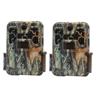 Two (2) Browning RECON FORCE FHD PLATINUM Trail Game Camera (10MP)