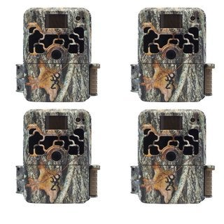 (4) Browning DARK OPS ELITE Sub Micro Trail Game Camera (10MP)