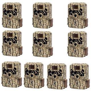 Browning BTC6HD DARK OPS HD Sub Micro 10MP Trail Camera (Set of Ten)