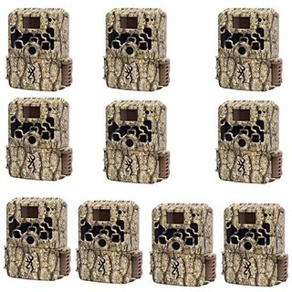 Browning BTC6HD DARK OPS HD Sub Micro 10MP Trail Camera (Set of Ten)