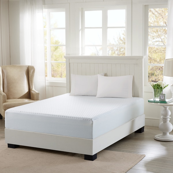 Flexapedic by Sleep Philosophy 12-Inch Mattress Maximum Comfort with Removable Knitted Cooling Cover - Twin Size