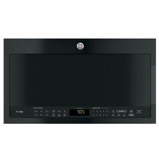 GE Profile Series 2.1-cubic Feet Over-the-range Sensor Microwave Oven