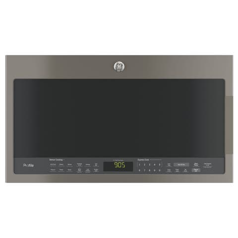 GE Profile Series 2.1-cubic Feet Over-the-range Sensor Microwave Oven