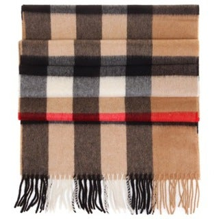 Burberry Mega Check Large Cashmere Scarf