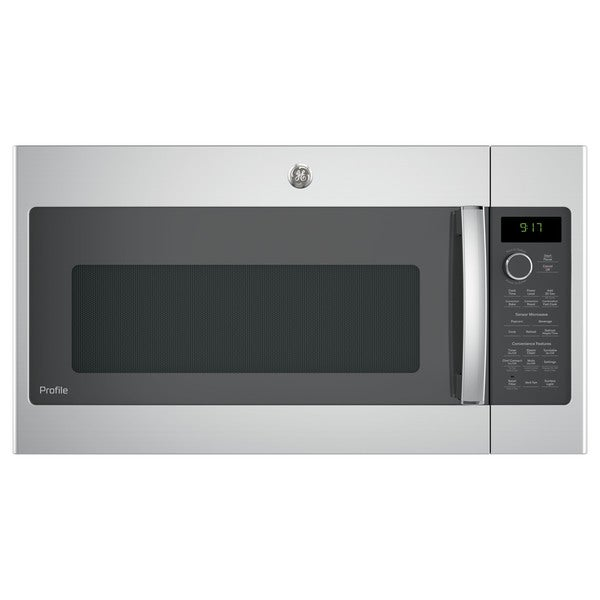 Ge Profile Series 1 7 Cubic Feet Convection Over The Range Microwave Oven