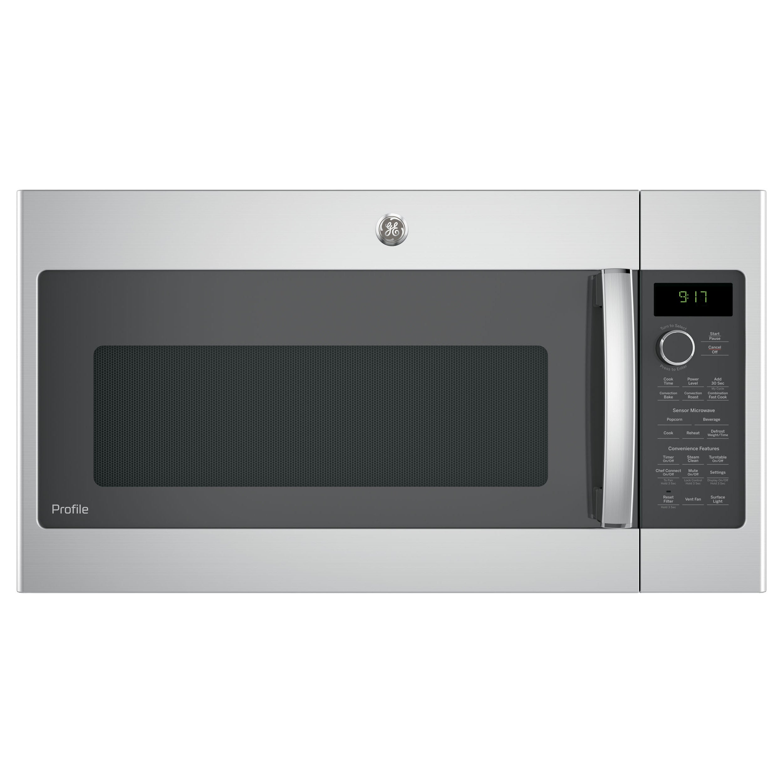 GE Profile Series 1.7-cubic Feet Convection Over-the-rang...