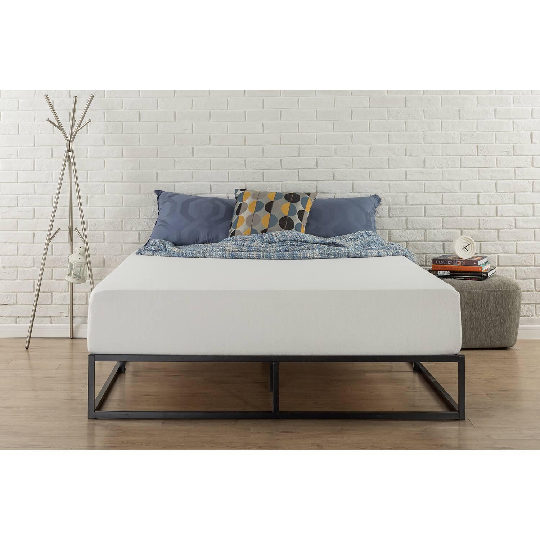 Metal Platform Bed Ok For A Memory Foam Mattress