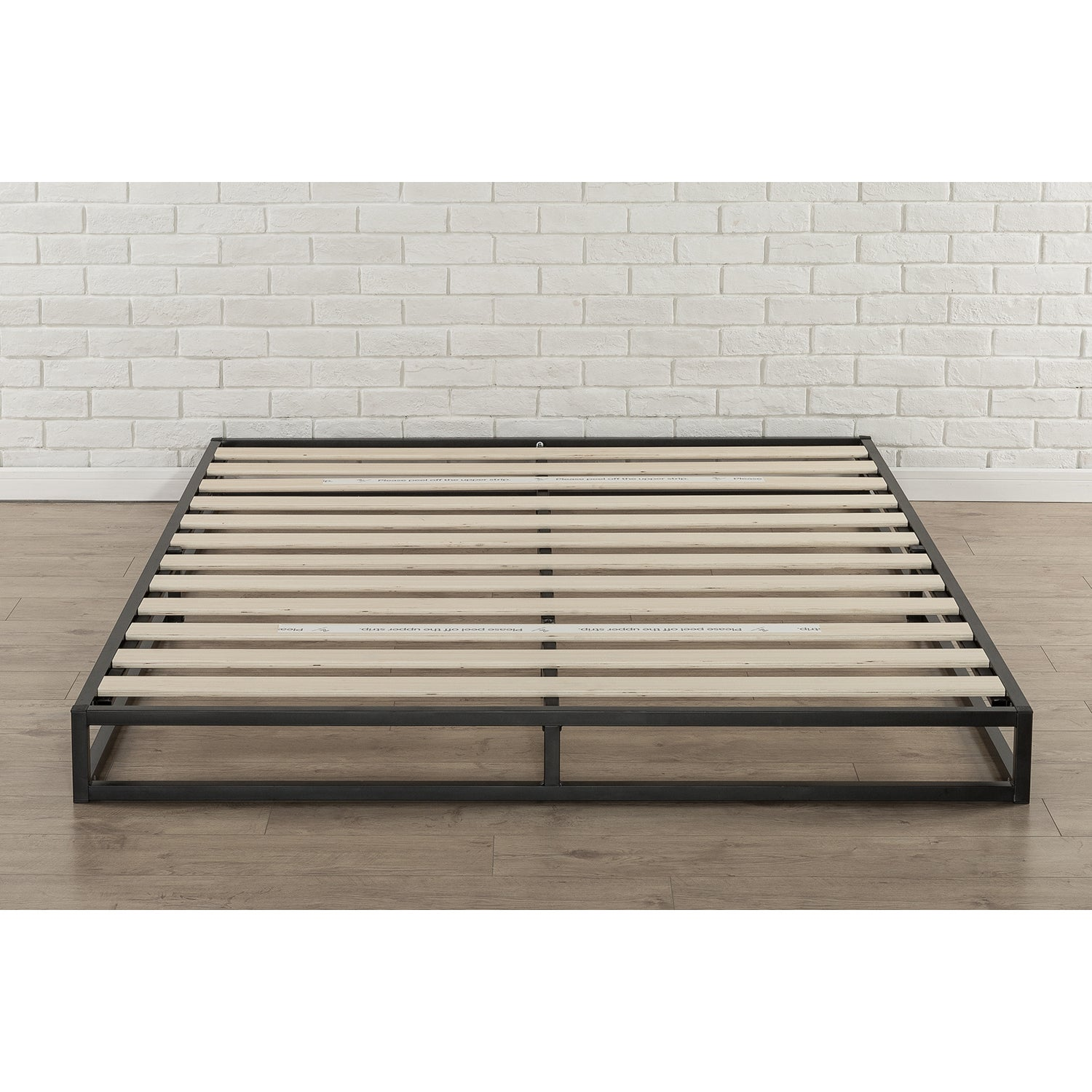 Priage By Zinus 6 Inch King Size Platforma Low Profile Bed Frame Overstock 20603793