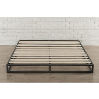 priage 6 inch queen size metal platform bed frame