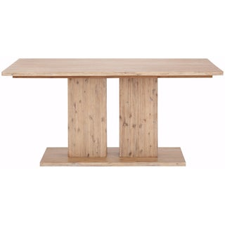 Yen Contemporary 63-inch Long Acacia Wood Dining Table