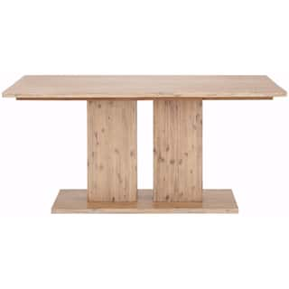 Yen Contemporary 63 inch Long Acacia Wood Dining Table. Acacia Dining Room   Kitchen Tables For Less   Overstock com