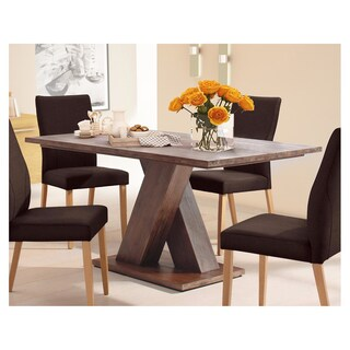 Cong 79-inch Long Acacia Wood Dining Table (2 options available)