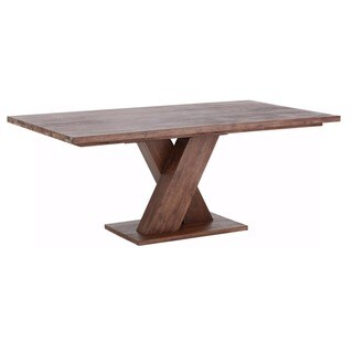 Cong 79-inch Long Acacia Wood Dining Table