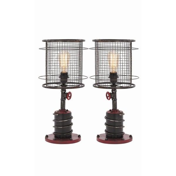 Benzara 21-inch Metal Table Lamp