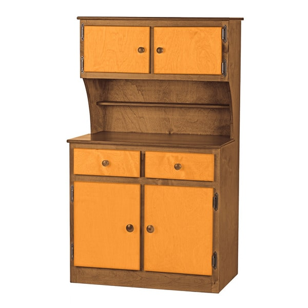 Children's REAL WOOD Play Kitchen Hutch/Cabinet