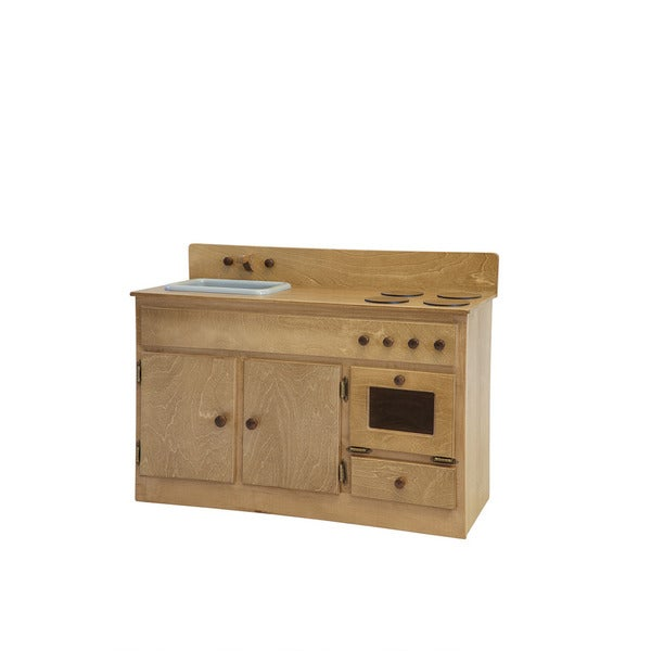 Child's Play Kitchen Sink & Stove Combo Harvest Stain