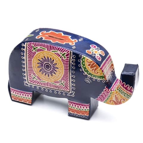 Handmade Elephant Bank (India)