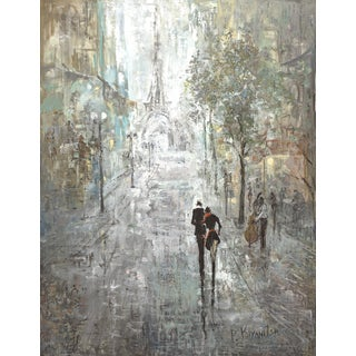 Hobbitholeco Peter Kijanista 'Amsterdam Lovers III' 30-inch x 40-inch Gallery-wrapped Canvas Wall Art