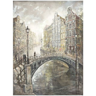 Peter Kijanista 'Amsterdam Lovers II' Print