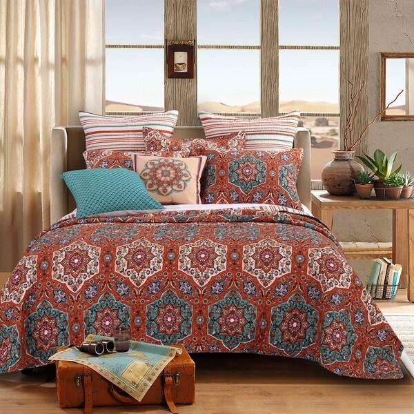 Barefoot Bungalow Sofia 3-piece Quilt Set