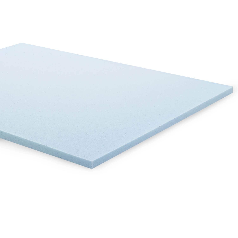 Linenspa 2-inch Gel Memory Foam Mattress Topper (Twin Xl)...
