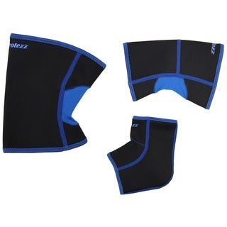 Protexx Support Brace 3-piece Set for Knee, Ankle and Elbow