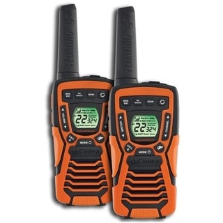 37-Mile Range Rugged and Floating 2-Way Radio